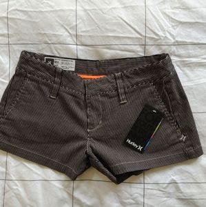 Hurley pinstripe shorts BNWT